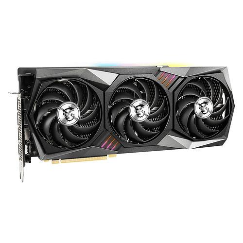MSI GeForce RTX 3080 GAMING Z TRIO 10G LHR pas cher