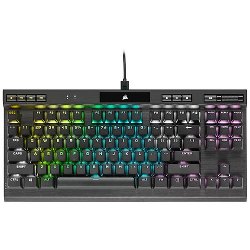Corsair Gaming K70 RGB TKL Champion Series (Cherry MX Red) pas cher