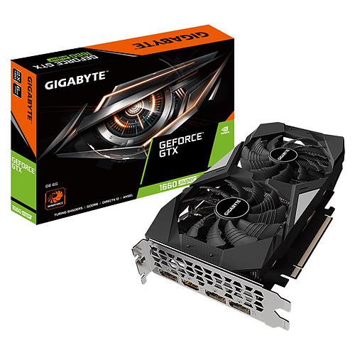 Gigabyte GeForce GTX 1660 SUPER D6 6G pas cher