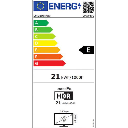 "LG 29"" LED - UltraWide 29WP60G pas cher"