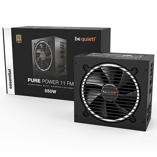 be quiet! Pure Power 11 FM 550W 80PLUS Gold pas cher