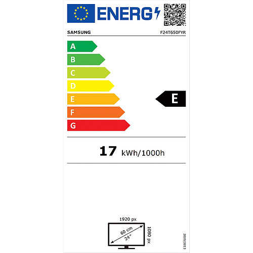 "Samsung 24"" LED - F24T650FYR pas cher"