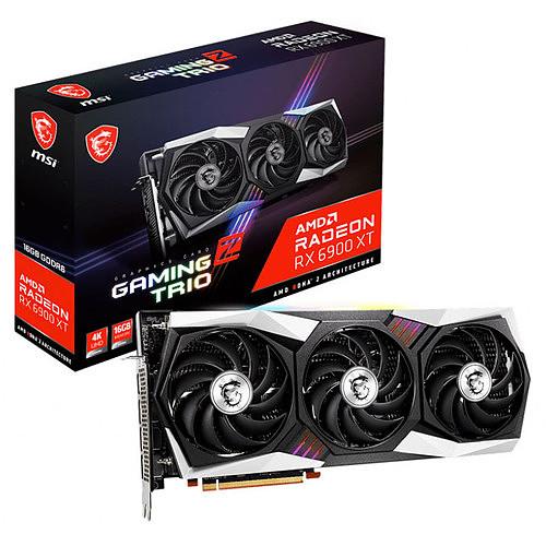 MSI Radeon RX 6900 XT GAMING Z TRIO 16G pas cher