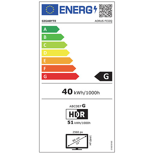 """AORUS 31.5"""" LED - FI32Q pas cher"""