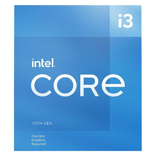Intel Core i3-10105F (3.7 GHz / 4.4 GHz) pas cher