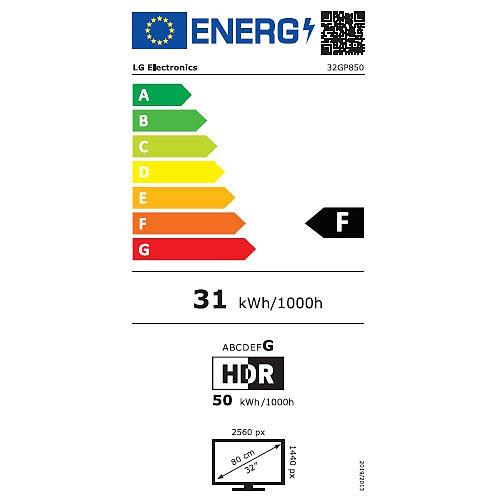 "LG 31.5"" LED - UltraGear 32GP850-B pas cher"