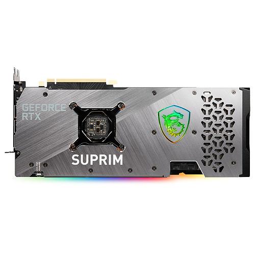 MSI GeForce RTX 3070 Ti SUPRIM X 8G pas cher
