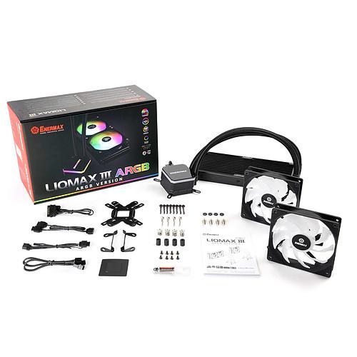 Enermax LIQMAX III ARGB 240 ELC-LMT240-ARGB pas cher