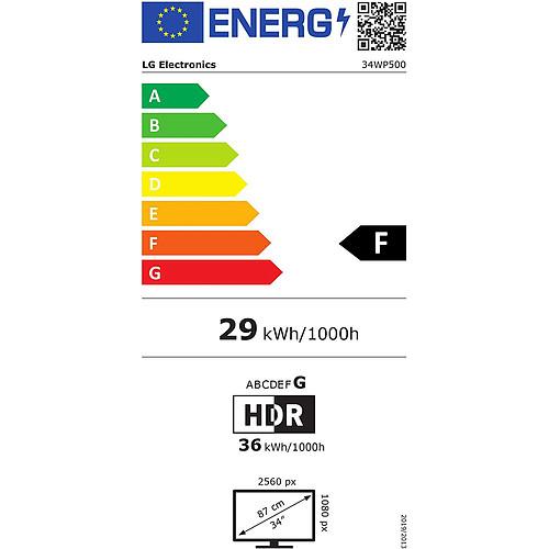 """LG 34"""" LED - 34WP500-B pas cher"""