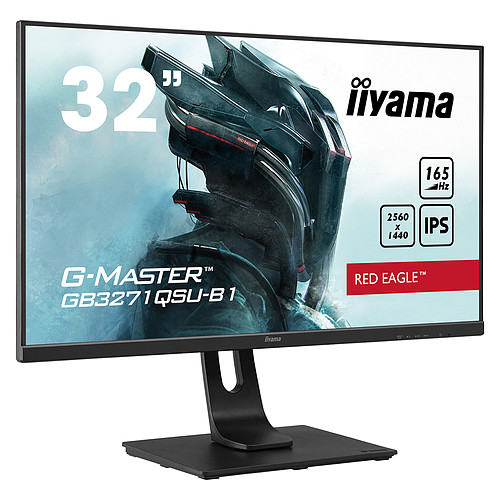 "iiyama 31.5"" LED - G-Master GB3271QSU-B1 Red Eagle pas cher"