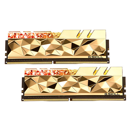 G.Skill Trident Z Royal Elite 32 Go (2 x 16 Go) DDR4 4800 MHz CL20 - Or pas cher