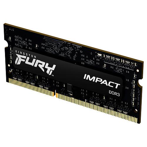 Kingston FURY Impact SO-DIMM 8 Go (1 x 8 Go) DDR3 1600 MHz CL9 pas cher