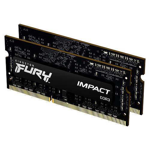 Kingston FURY Impact SO-DIMM 8 Go (2 x 4 Go) DDR3 1600 MHz CL9 pas cher