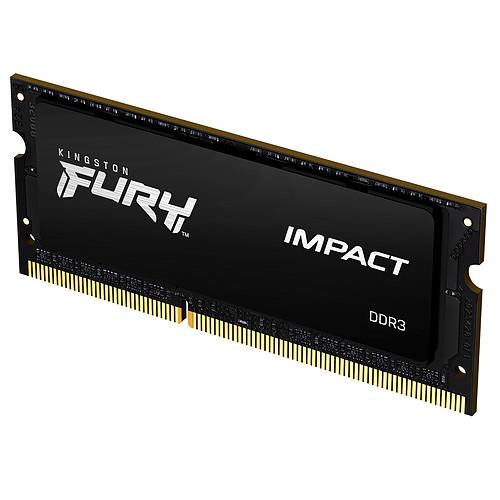 Kingston FURY Impact SO-DIMM 4 Go (1 x 4 Go) DDR3 1600 MHz CL9 pas cher