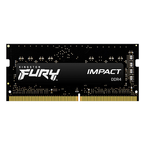 Kingston FURY Impact SO-DIMM 16 Go DDR4 3200 MHz CL20 pas cher