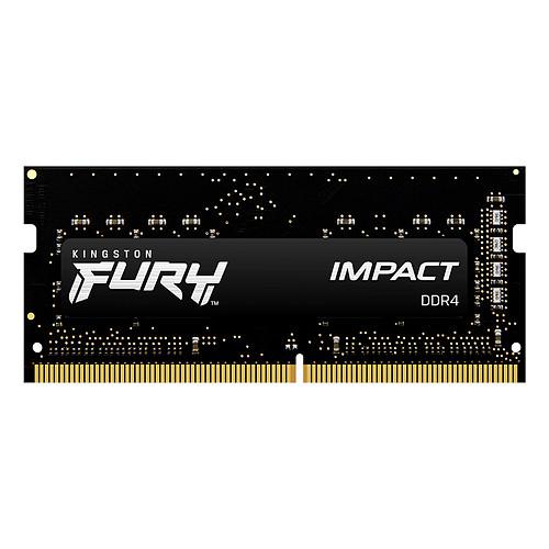 Kingston FURY Impact SO-DIMM 8 Go DDR4 2933 MHz CL17 pas cher