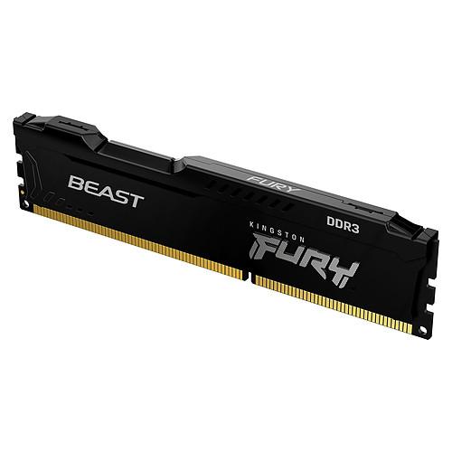 Kingston FURY Beast 4 Go DDR3 1600 MHz CL10 pas cher