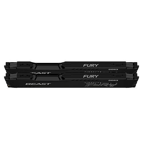 Kingston FURY Beast 16 Go (2 x 8 Go) DDR3 1600 MHz CL10 pas cher