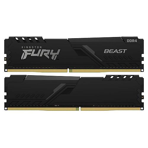 Kingston FURY Beast 32 Go (4 x 8 Go) DDR4 3000 MHz CL15 pas cher