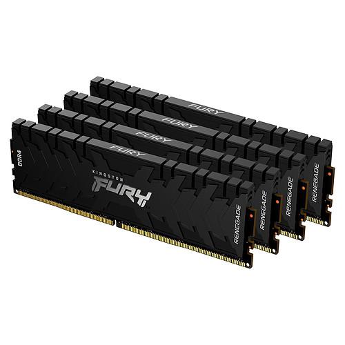 Kingston FURY Renegade 64 Go (4 x 16 Go) DDR4 2666 MHz CL13 pas cher