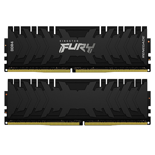 Kingston FURY Renegade 64 Go (4 x 16 Go) DDR4 3200 MHz CL16 pas cher