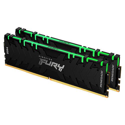 Kingston FURY Renegade RGB 16 Go (2 x 8 Go) DDR4 4000 MHz CL19 pas cher