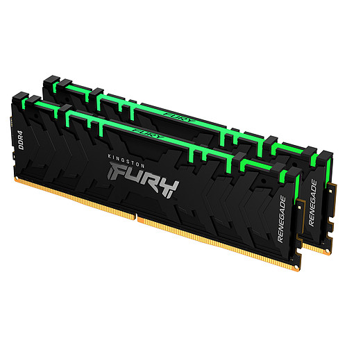 Kingston FURY Renegade RGB 16 Go (2 x 8 Go) DDR4 3000 MHz CL15 pas cher