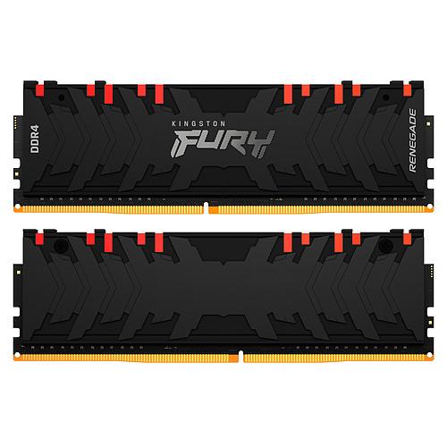Kingston FURY Renegade RGB 64 Go (2 x 32 Go) DDR4 3200 MHz CL16 pas cher