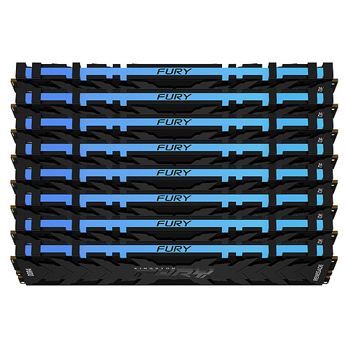 Kingston FURY Renegade RGB 256 Go (8 x 32 Go) DDR4 3200 MHz CL16 pas cher