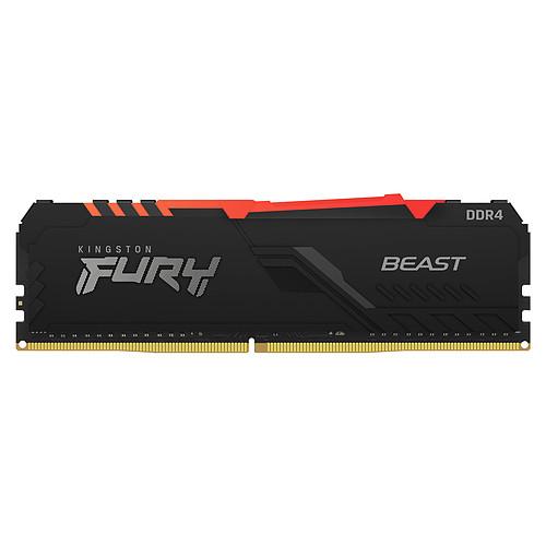 Kingston FURY Beast RGB 32 Go DDR4 3200 MHz CL16 pas cher