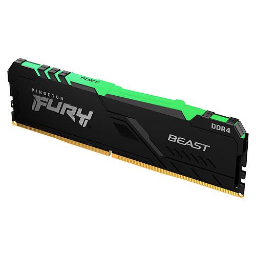Kingston FURY Beast RGB 8 Go DDR4 3733 MHz CL19 pas cher