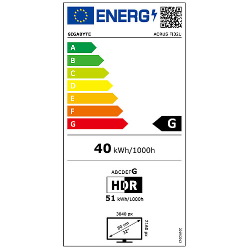 """AORUS 31.5"""" LED - FI32U pas cher"""
