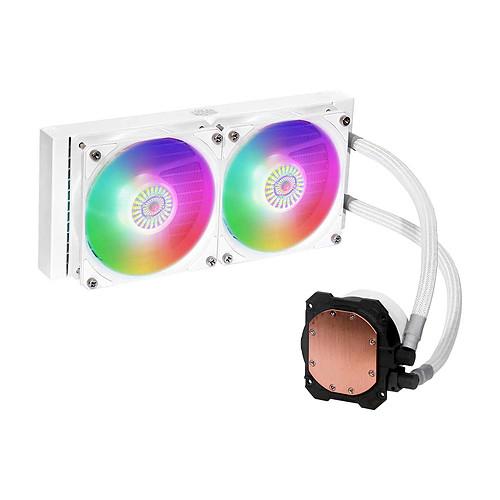 Cooler Master MasterLiquid ML240L V2 ARGB White Edition pas cher