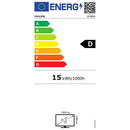 "Philips 23.8"" LED - 243B9H/00 pas cher"