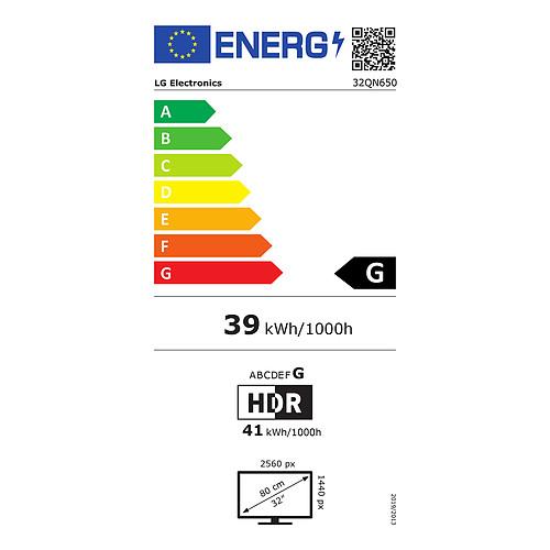 """LG 32"""" LED - 32QN650-B pas cher"""
