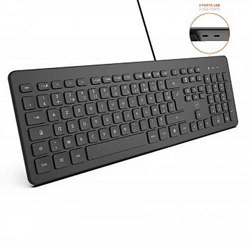 Mobility Lab Business Wired Keyboard (Noir) pas cher
