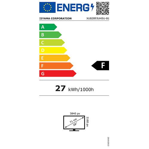 """iiyama 28"""" LED - ProLite XUB2893UHSU-B1 pas cher"""