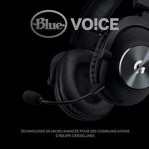 Logitech G Pro X Gaming Headset (Noir) pas cher