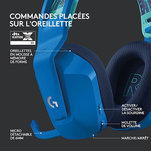 Logitech G G733 Lightspeed (Bleu) pas cher