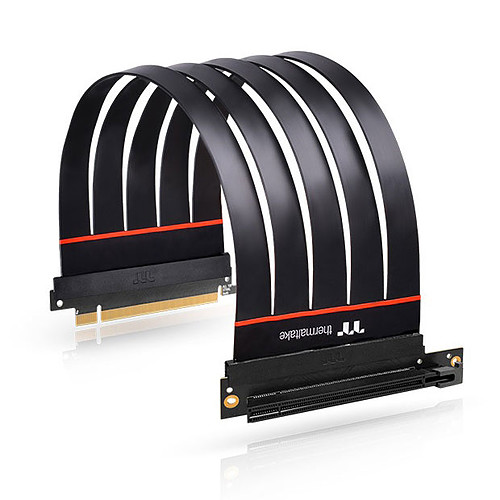 Thermaltake TT Premium PCI-E 4.0 Extender 90° - 300 mm pas cher