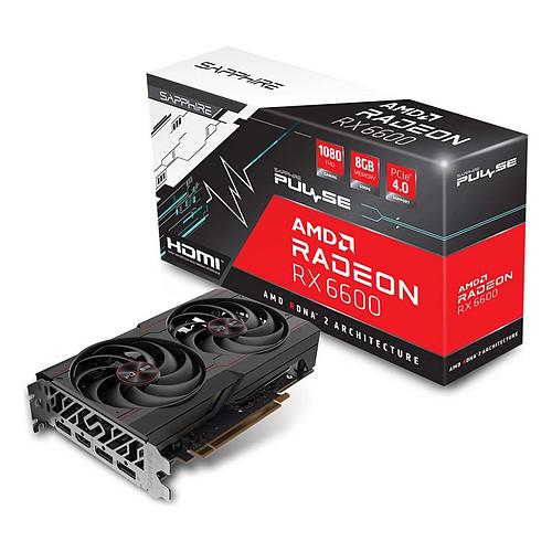 Sapphire PULSE Radeon RX 6600 8GB pas cher