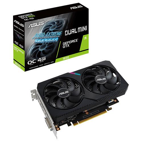 ASUS GeForce GTX 1650 DUAL-GTX1650-O4GD6-MINI pas cher
