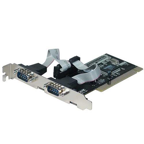 Carte contrôleur PCI avec 2 ports RS-232 (DB-9) pas cher