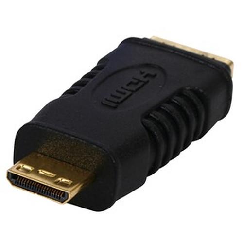 Adaptateur HDMI femelle / mini HDMI mâle (plaqué or) pas cher