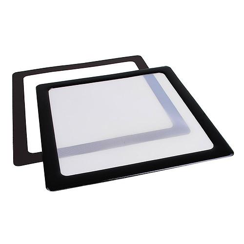 Filtre à poussière magnétique carré 120 mm (cadre noir, filtre blanc) pas cher