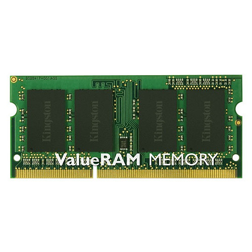 Kingston ValueRAM SO-DIMM 4 Go DDR3 1600 MHz CL11 SR X8 pas cher