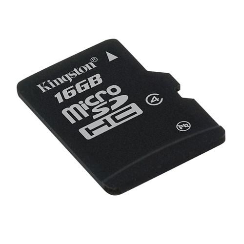 Kingston microSDHC 16 GB Class 4 pas cher