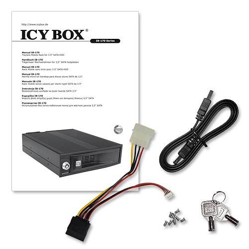 ICY BOX IB-170SK-B pas cher