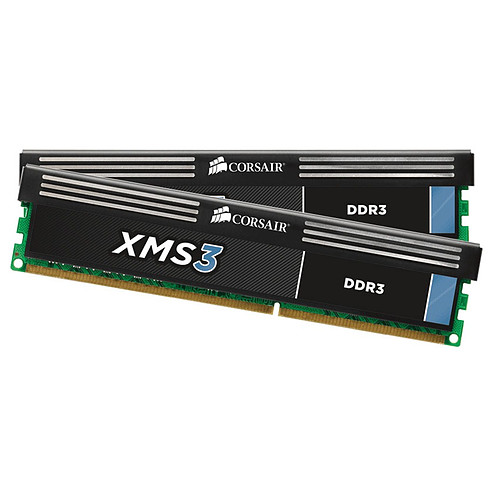 Corsair XMS3 8 Go (2x 4 Go) DDR3 1600 MHz CL9 pas cher