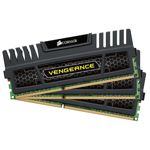 Corsair Vengeance Series 12 Go (3x 4 Go) DDR3 1600 MHz CL9 pas cher